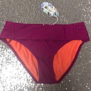 SPF 50+ Prana Hipster Bikini Bottom Swimsuit